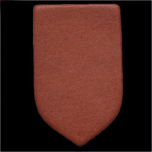 Lederstanzteil 4,0 x 2,5 cm