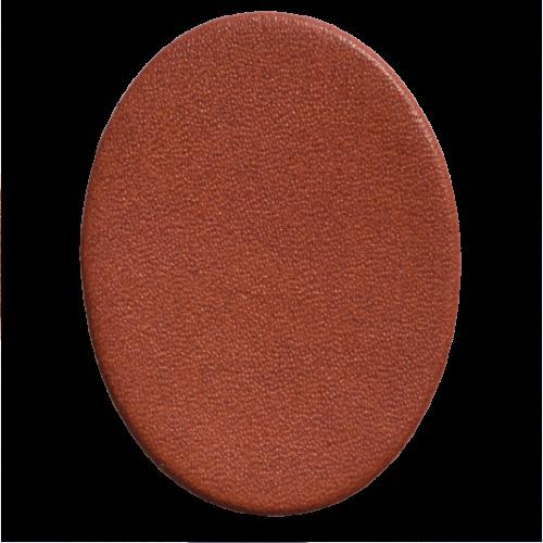 Lederstanzteil 4,0 x 3,0 cm