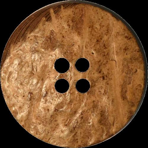 Kokosnuss Knöpfe Trachtenknopf 22 mm 4 Stück