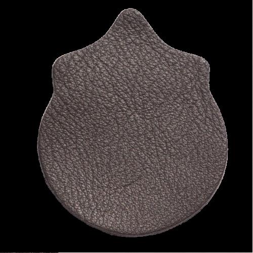 Lederstanzteil 4,0 x 5,0 cm