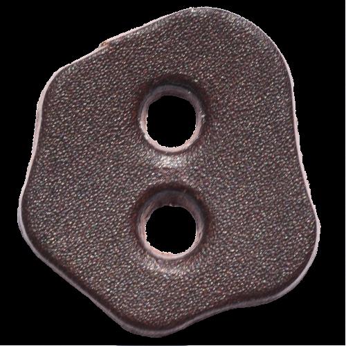 Lederstanzteil 3,2 x 2,8 cm