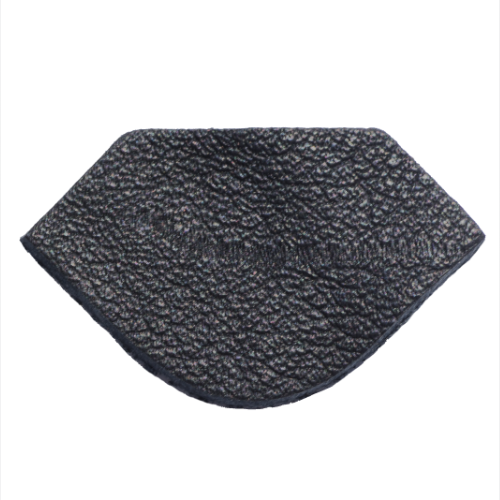 Lederstanzteil 4,0 x 2,4 cm
