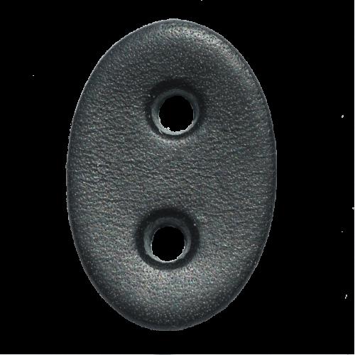 Lederstanzteil 3,0 x 2,0 cm